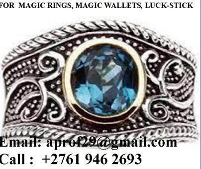 Money making magic ring +2761 946 2693 world-wide